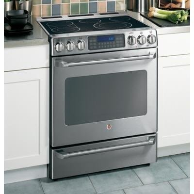 Ge Cafe : Cs980Snss 30 Free Standing Radiant Range front-11210