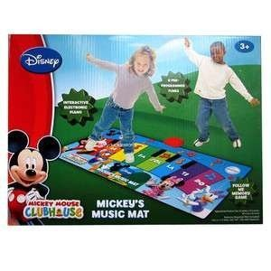 DISNEY JUNIOR MICKEY MOUSE CLUBHOUSE MICKEY'S MUSIC MAT Children, Kids, Game