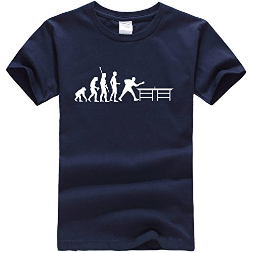 Dealong boys layered evolution Pong T shirt Small Navy capdase