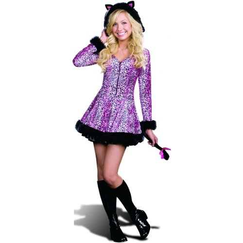Pretty Little Kitty Costume - Teen X-Small front-517475