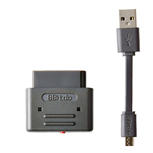 8Bitdo Bluetooth Wireless Retro Receiver Support for PS3 Dualshock 3 PS4 Dualshock 4 Wiimote Wii U Pro Controller SNES SFC (Wii U Pro Controller Snes compare prices)