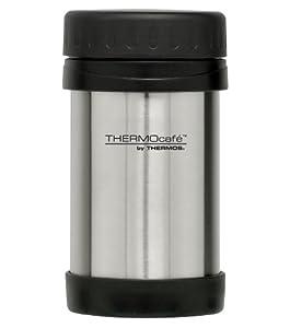 Thermos 183285 Everyday Porte-Aliments en Acier Inoxydable - 0.5 L - 8,5 x 16,5 x 8,5 cm