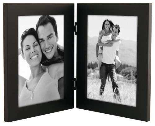 Linear Black Picture Frame 5x7