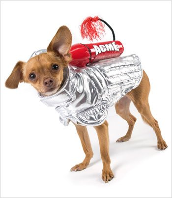 Rocket Space Dog Costume for Dogs - Size 3 (10.75