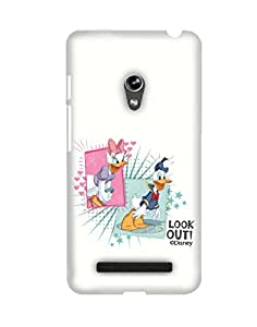 Pick Pattern Back Cover for Asus Zenfone 5 A500CG