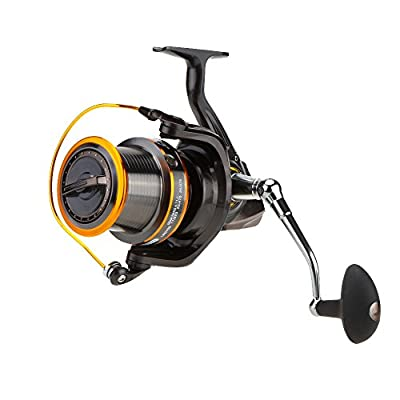 Lixada 12+1BB 13Ball Bearings Left/Right Interchangeable LJ9000 Super Big Sea Fishing Wheel Metal Spinning Reel High Speed 4.11:1 by Lixada