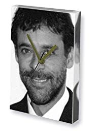 ALEXANDER SIDDIG - Canvas Clock (LARGE A3 - Signed by the Artist) #js001