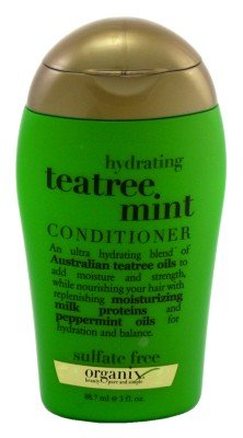 Organix Conditioner Tea Tree Mint 89 ml (Pack of 4) (Spülungen & Conditioner)