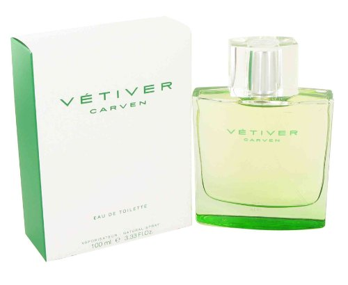 Carven, Vetiver - Eau de Toilette, 100 ml, da uomo