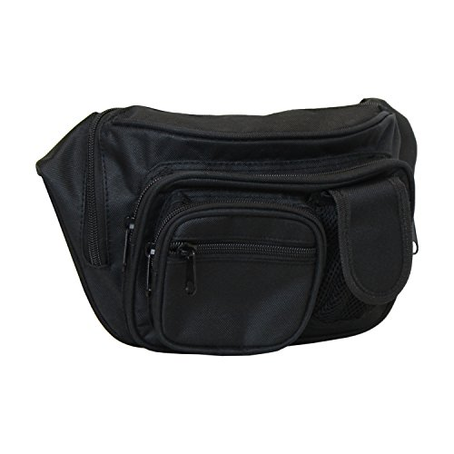 Pistol Carry Bag - Concealment Fanny Pack - Fits up to 50 in Waist from Everest