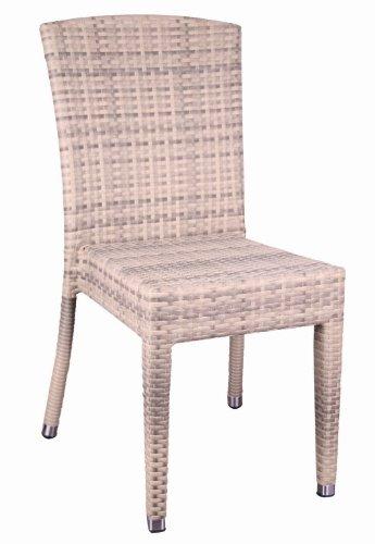 Gastronomie Möbel Gartensessel Maui Garten Sessel Stuhl Stapelstuhl Elfenbein günstig online kaufen