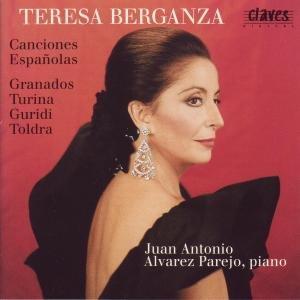 Canciones Españolas -Teresa Berganza - CD