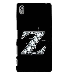 Alphabet Z 3D Hard Polycarbonate Designer Back Case Cover for Sony Xperia Z5 Premium (5.5 Inches) :: Sony Xperia Z5 Premium Dual