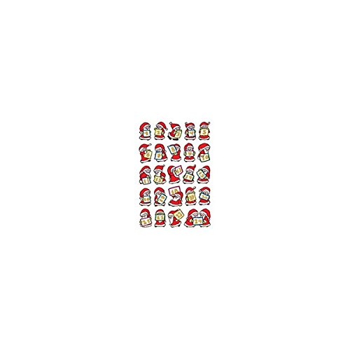 HERMA WeihnachtsSticker DECOR Adventskalender, beglimmert