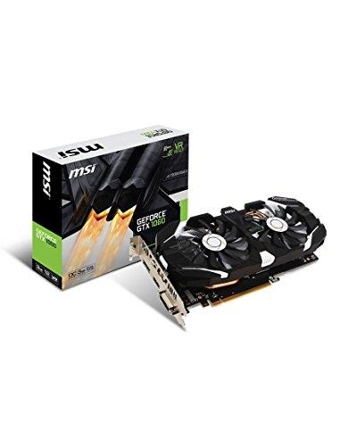 MSI NVIDIA GeForce GTX 1060 3GT OC 3 GB GDDR5 memory PCI Express 3 Dual Fan Graphics Card