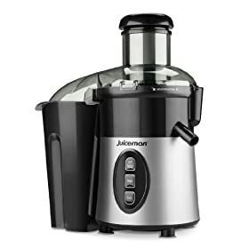 Juiceman JM1000M Juiceman Express Junior Silver Metallic Juice Extractor and Food Processor