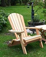Folding Cedar Adirondack Chair, Amish Crafted by Kilmer Creek