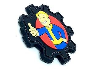 Vault Boy Fallout PVC Airsoft Velcro Fan Patch