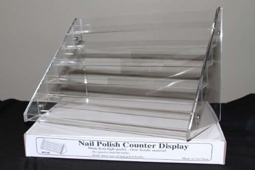 Nail Polish Table Rack Display (Hold Up To 60