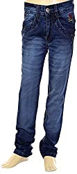 HAVOC Boys' 25061 Slim Fit Jeans (Blue, Size 38 - 13 to 14 Years)