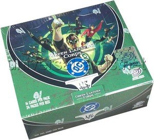 Imagen de DC VS System Trading Card Game Green Lantern Corps Booster Packs Caja de 24