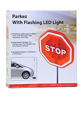 Parkez-Flashing-LED-Light-Parking-Stop-Sign-For-Garage