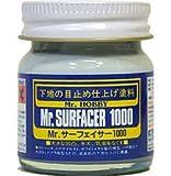 Mr.ホビー サーフェイサー Mr.サーフェイサー1000  ビン入り 40ml  もっとも使いやすい、スタンダードなサーフェイサーです!SF284