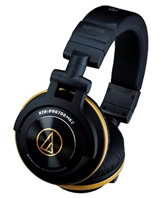 Audio-Technica ATH-PRO700 MK2 Professional DJ Headphones