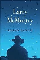 a novel:Rhino Ranch…