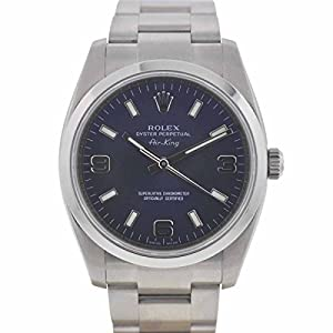 Rolex Airking automatic-self-wind blue mens Watch 114234 (Certified Pre-owned)