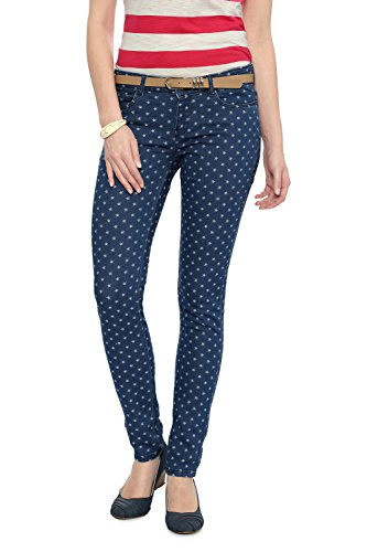 Allen-Solly-Women-Ultra-Slim-Fit-PantsAWDN315C0577328Navy