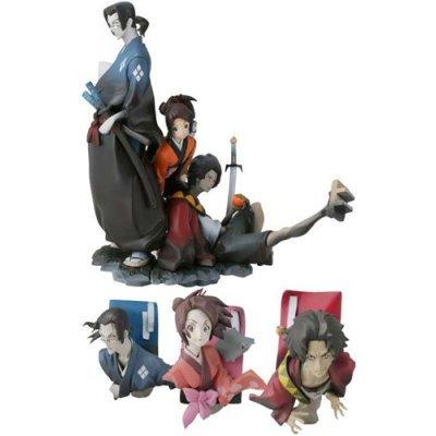 Samurai Champloo : Mugen, Jin, Fuu Mini Figure