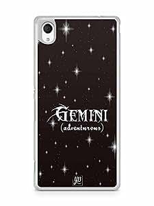 YuBingo Gemini (Adventurous) Designer Mobile Case Back Cover for Sony Xperia M4
