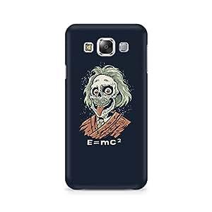 Ebby Skully Einstein Premium Printed Case For Samsung E5