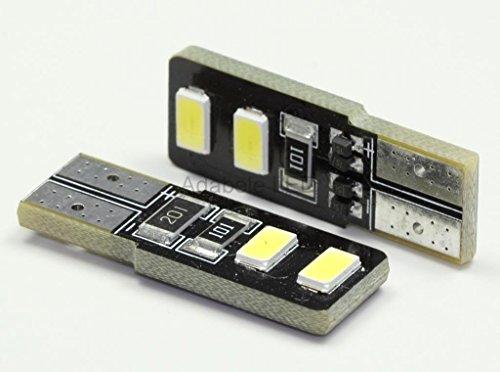 2X T10 Samsung 5630 6 Led White Super Bright Car Light Bulb 194 168 2825 W5W L55 @ 147, 152, 158, 159, 161, 168, 184, 192, 193, 194 2863 Compare To Sylvania Osram Phillips
