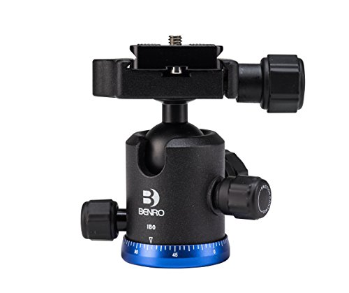 Benro Triple Action Ball Head w/ PU50 Quick Release Plate (IB0) (Ball Head Arca Swiss compare prices)