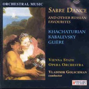 Sabre Dance - 20th-Century Russian Ballets by Vanguard Classics