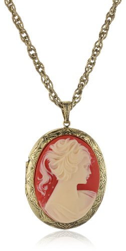 1928 Jewelry Vintage-Inspired Cameo Necklace