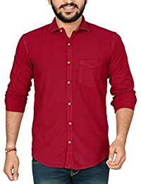 HIGH HILL Cotton Casual Shirt For Men