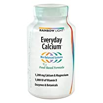 Big Sale Best Cheap Deals Rainbow Light Everyday Calcium With Enzyme 120 tab ( Multi-Pack)