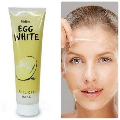 Egg White Whitening Poreless Anti-blackhead Peel Off Face ...