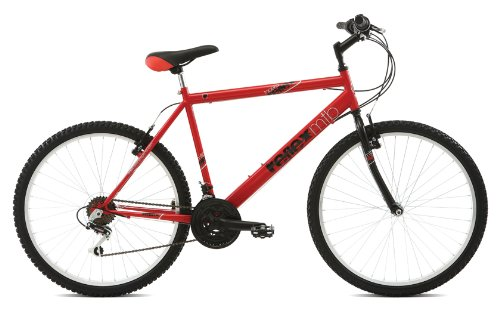 Reflex Men's Topeka Mountain Bike - Red/Black, 20 Inch