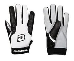 DeMarini Fastpitch CF3 Adult Batting Gloves (Black, X-Large)