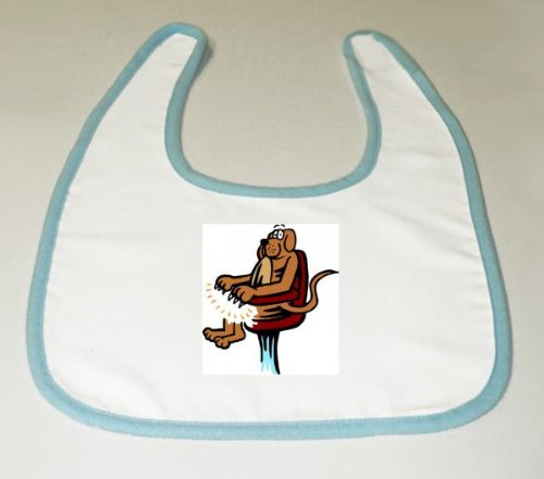 Baby Bib with nails, grooming, claws, dog, manicure image