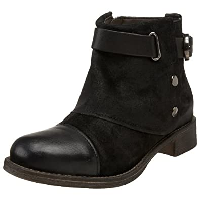 Boutique 9 Women's Cooper Ankle Boot,Black,5 M US