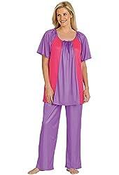 Silky Pajamas Set - Misses Sizes