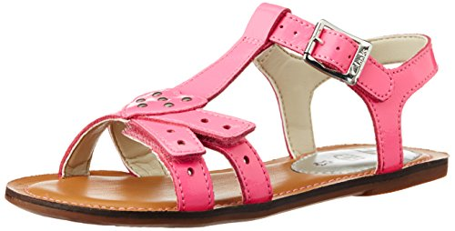 Clarks - Sandali infradito Loni Lola, Bambina, Rosa (Pink (Candy Patent)), 37