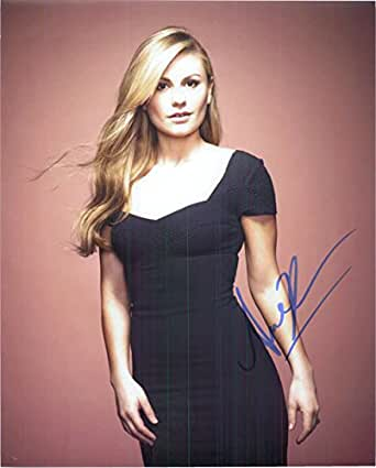 Signed Paquin, Anna 8x10 Photo autographed