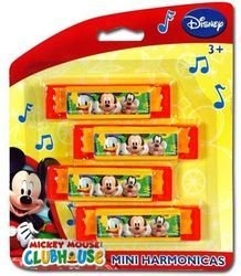 Mickey Mouse Clubhouse 4Pk Harmonica - 1