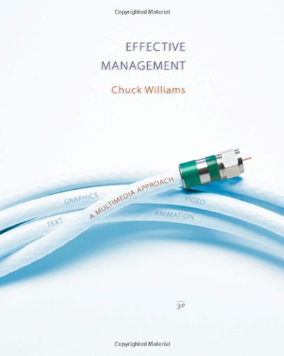 Effective Management (with EMO Bind-In Card) (Available Titles CengageNOW)